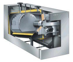 Котел Vitocrossal 200 CM2 мощностью 400-620 кВт для крышных котельных