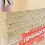 Плиты Rockwool Сауна Баттс с фольгированным слоем