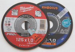 Milwaukee Rhodius рейтинг отрезные круги Hydro Protect