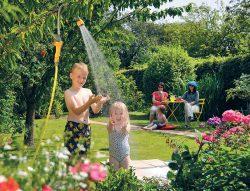 садовый душ полив шланг