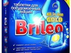 Таблетки Paclan Brileo для посудомоечных машин