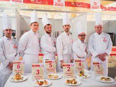 Конкурс Les Chefs en Or Selgros