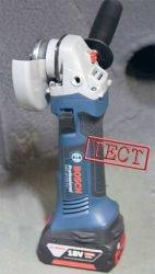 Bosch GWS 18–125 V–Li форум сколько работает отзывы