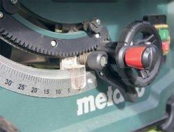 «Пульт управления» наклоном и «вылетом» пильного диска
