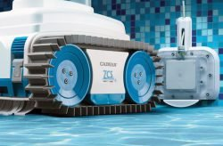 Caiman NemH2O, Nemo – беспроводной робот для чистки бассейнов. Зарядная станция