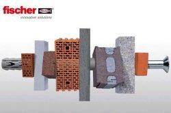 Fischer SXR, FUR, SXS, SXRL - фасадные дюбели, анкеры для любых стеновых материалов
