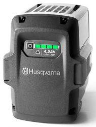 Husqvarna BLi150 – единый аккумулятор для аккумуляторной серии (Li-Ion, 36 В, 4,2 А*ч)