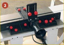 Jet JRT‑2 - универсальный фрезерный стол. Оснащение