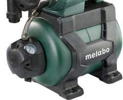 Metabo HWWI 3500/25, 4500/25 Inox - автоматические насосные станции. Манометр, вентиль
