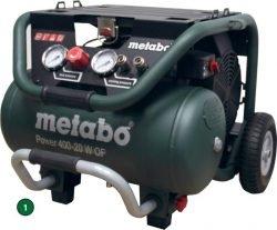 Metabo Power 400-20 W OF – компрессор поршневой одноступенчатый безмасляный. Рабочее положение