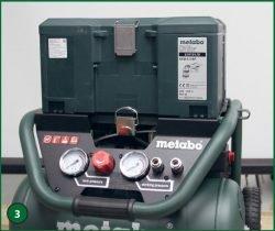 Metabo Power 400-20 W OF – компрессор поршневой одноступенчатый безмасляный. Чемодан MetaLoc