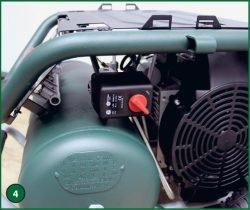 Metabo Power 400-20 W OF – компрессор поршневой одноступенчатый безмасляный. Прессостат Condor