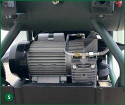 Metabo Power 400-20 W OF – компрессор поршневой одноступенчатый безмасляный. Двигатель с конденсатором и компрессорным блоком