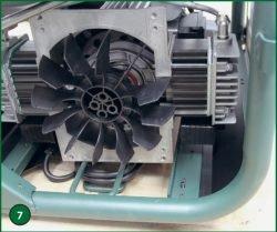 Metabo Power 400-20 W OF – компрессор поршневой одноступенчатый безмасляный. Компрессорный блок