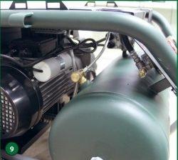 Metabo Power 400-20 W OF – компрессор поршневой одноступенчатый безмасляный. Конденсатор, клапаны