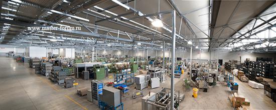 Завод Rubinetterie Bresciane в Брешии
