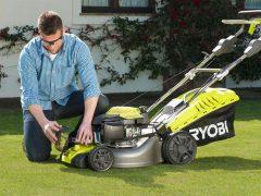 Ryobi RLM46175SO - бензиновая газонокосилка с технологией EasyStart