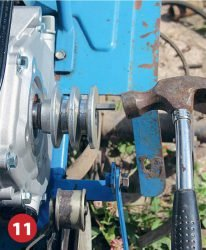 двигатель ремонт Крот не заводится