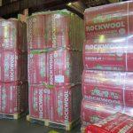 Теплоизоляция Rockwool на складе в Выборге