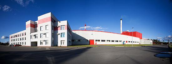 Завод Rockwool в Выборге