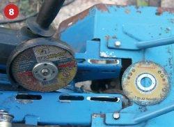 Луга диск зачистка УШМ