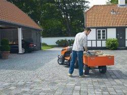 трактор прицеп перевозка грузов