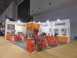 Выставка CIHS 2015 Шанхай Groz струбцины тиски инструмент ручной Китай China International Hardware Show