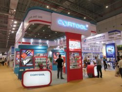 Выставка CIHS 2015 Шанхай Cortool сверла бур коронки оснастка Китай China International Hardware Show