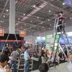 Выставка CIHS 2015 Шанхай Little Giant лестницы стремянки Китай China International Hardware Show