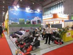 Выставка CIHS 2015 Шанхай Extop газонокосилки цепные пилы триммер техника садовая Китай China International Hardware Show