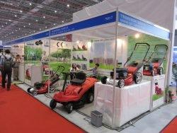 Выставка CIHS 2015 Шанхай Ninghai GGT газонокосилки райдер трактор садовый мини Китай China International Hardware Show