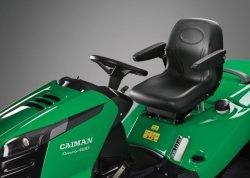 Caiman Comodo 2WD, 4WD - садовые тракторы. Эргономичное регулируемое сиденье