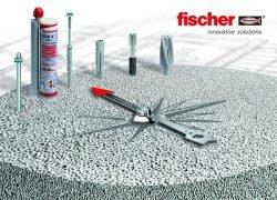Дюбели и анкеры Fischer для крепления в газобетоне