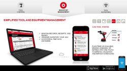 Milwaukee One Key Inventory Management складской учет инструмент смартфон конференция 2016 Прага