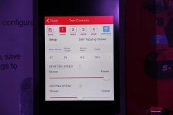 Milwaukee One Key Tool Controls приложение вкладка регулировка частота вращения крутящий момент инструмент смартфон аккумуляторный конференция 2016 Прага