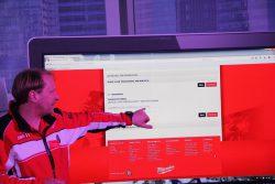 Milwaukee One Key отчет цикл обжимка неудачный M18 HCCT ForceLogic Tool Reporting конференция 2016 Прага