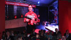 Milwaukee конференция 2016 Прага M18 CHM Fuel аккумуляторный перфоратор SDS Max Оливер Лерч One Key