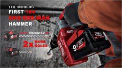 Milwaukee конференция 2016 Прага M18 CHM Fuel аккумуляторный перфоратор SDS Max 18 В 9 Ач А ч One Key