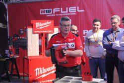Milwaukee M18 CN18GS Fuel гвоздезабиватель аккумуляторный конференция 2016 Прага