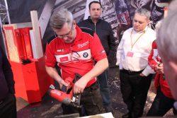 Milwaukee M18 CN16GA Fuel гвоздезабиватель аккумуляторный конференция 2016 Прага