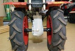 Угра НМБ1-1H2 - мотоблок КАДВИ с двигателем Honda GP 200. Редуктор