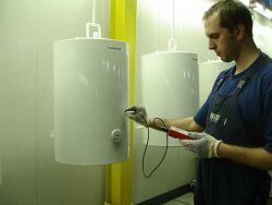 Испытания водонагревателей Аристон