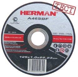 Herman абразивы отрезка тонкая