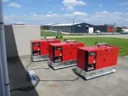 арендный аренда генератор мини-электростанция