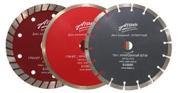 отрезные круги диски Атака