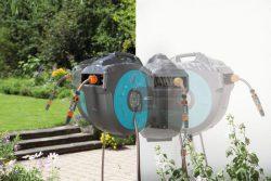 Gardena 25 катушка настенная автоматическая шланг садовый