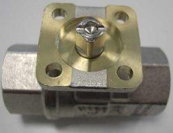 Кран Rubinetterie Bresciane 2500 под привод по ISO 5211