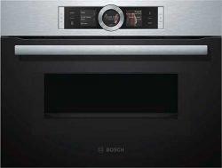 Bosch CMG 636BS1 духовой шкаф с микроволнами