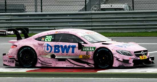 BWT спонсор Mercedes AMG