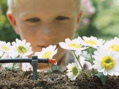 Gardena микрокапельный полив система комплект базовый
